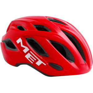 Casco MET Idolo Rojo (Piloto led trasero)