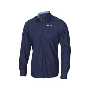 XLC FT-A13 camisa manga larga hombre azul marino