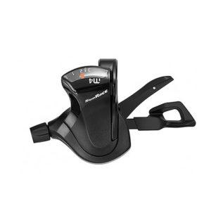 Mando pulsador Sunrace Dlm400 izquierdo 3 velocidades 1700 mm aluminio negro