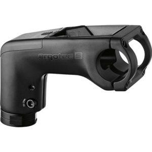 "Potencia Ergotec integra-BK A-Head 110 mm 1-1/8"" 31.8 35º alu. negro con soporte pantalla Bosch Kiox"
