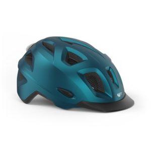 Casco MET Mobilite azul metalico mate
